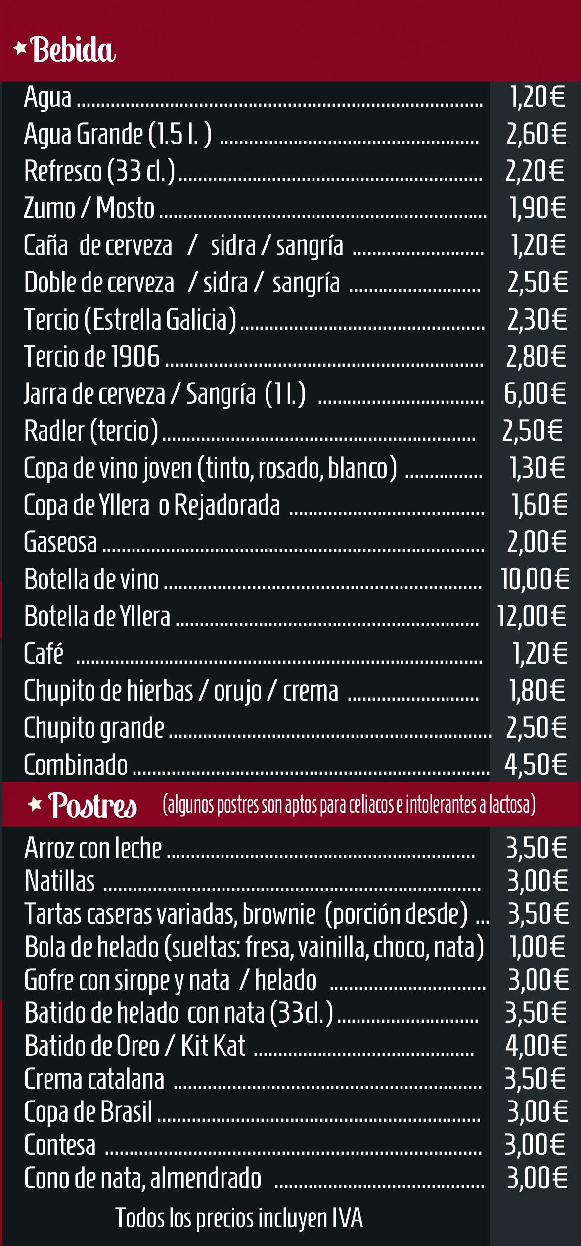 Burguer Country Zamora Carta pedidos