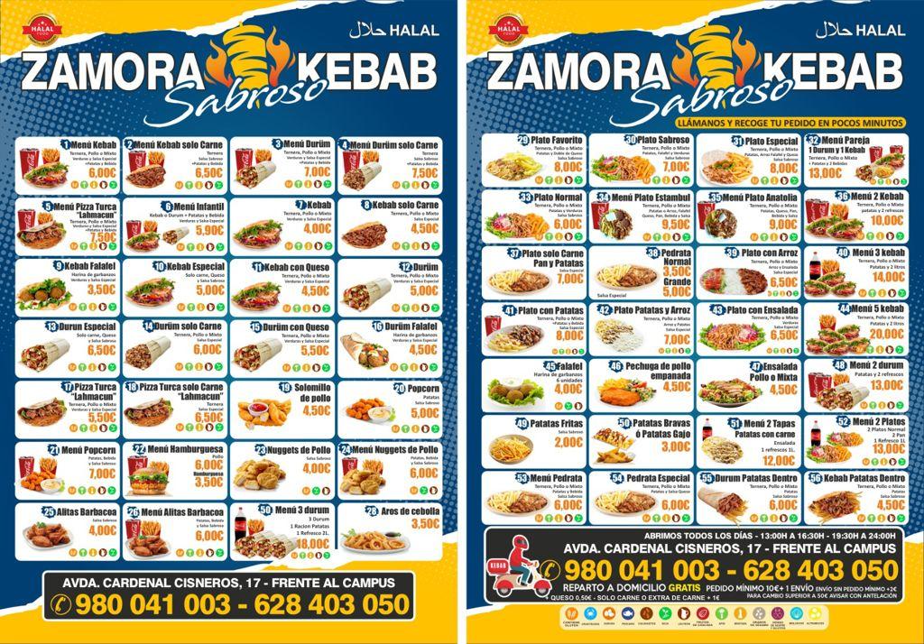 Zamora Sabroso kebab